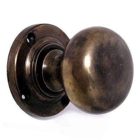 Aged Brass Door Knobs by Bun Door Knobs Aged Brass Broughtons Of Leicester Ltd