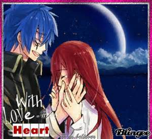 With love anime couple picture 128098313 blingee com