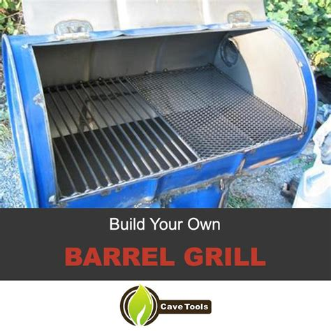 Your Own Portable Barbecue by A Real Pit Master Needs A Barrel Grill So Let S Make One