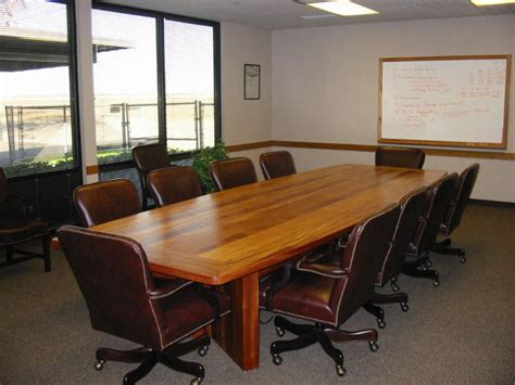 mahogany wood conference tables custom made