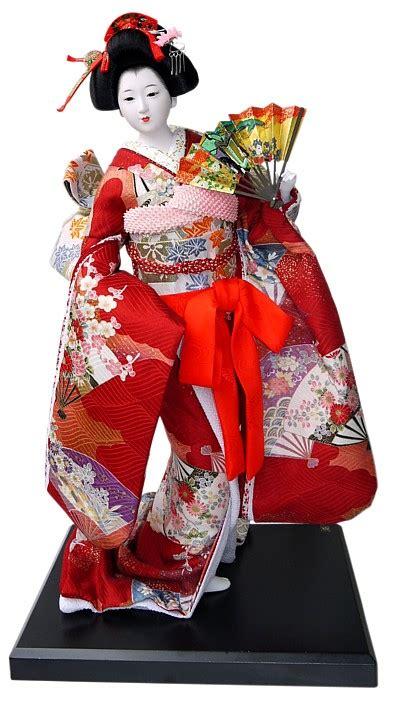 japanese dolls japanese vintage doll in beautifull kimono japanese