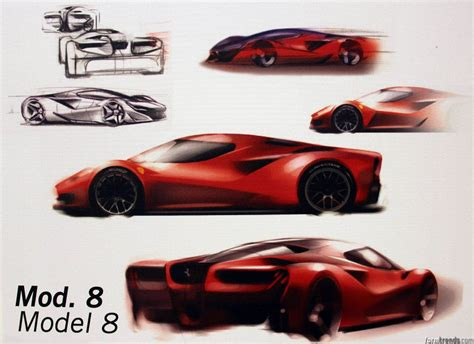 laferrari sketch never born pre laferrari design sketches