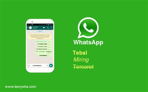 cara membuat tulisan miring di whatsapp cara membuat tulisan di whatsapp menjadi tebal miring