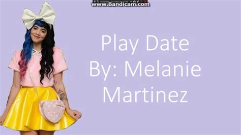 Play date melanie martinez lyrics clean up woman