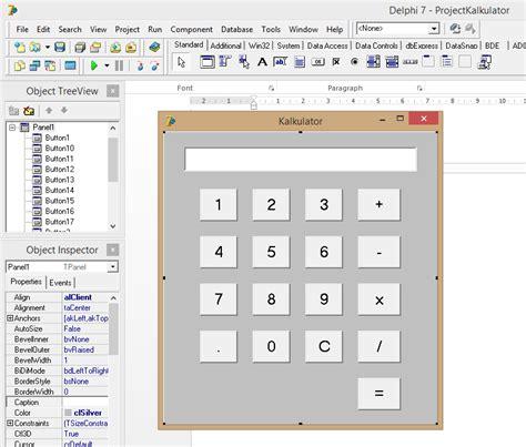 membuat kalkulator html assalamu alaikum cara membuat kalkulator di delphi 7