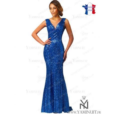 Robe Bustier Bleu Roi Mariage - robe sir 232 ne strass bleu roi longue pr 232 s du corps goldy