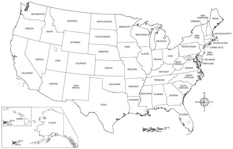 printable united states map with state names and time zones united states printable map with state names brilliant