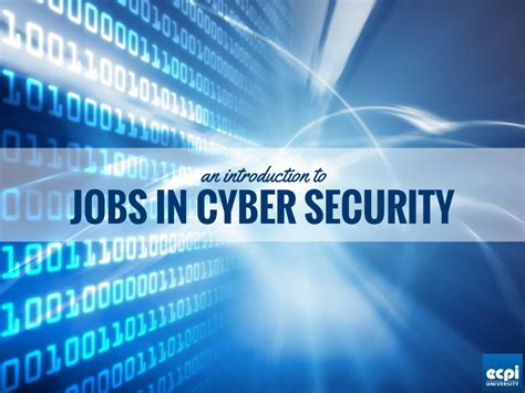 Mba With Cyber Security Concentration by In Cyber Security An Intro To Computer Security Careers