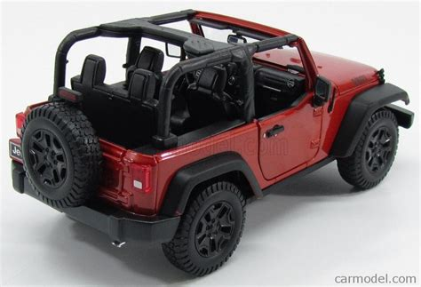 jeep willys white 1 18 scale 2014 jeep wrangler willys wheeler