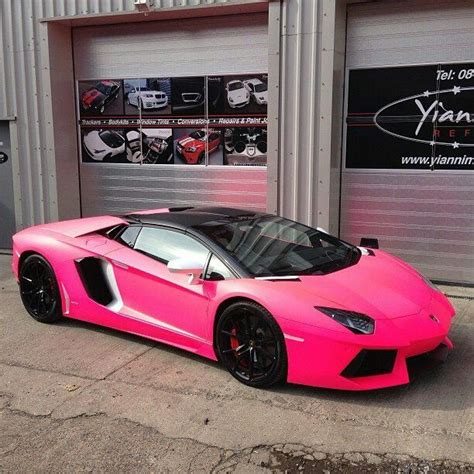 pink wrapped lamborghini aventador that s not right