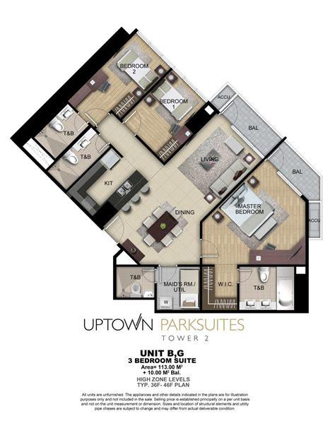 gerard towers floor plans uptown parksuites tower 2 floor plans