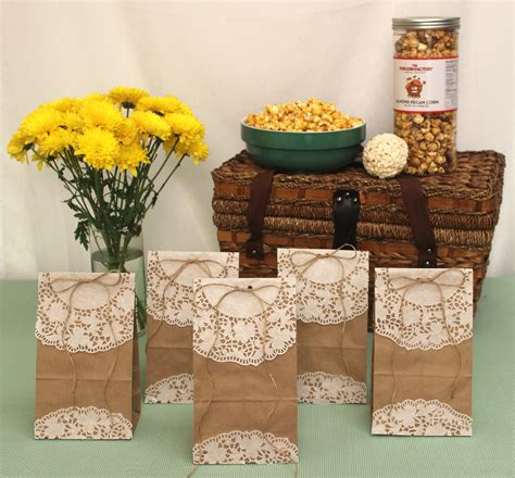 How To Make Paper Goody Bags - how to make diy popcorn goody bags for the