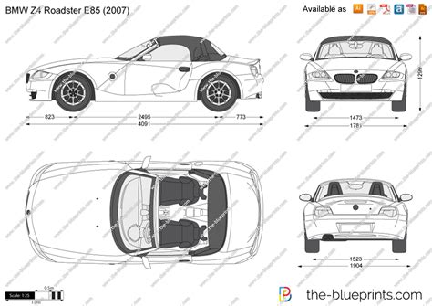 bmw  roadster  vector drawing