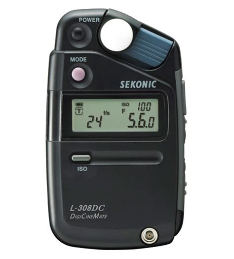 light meter for photography sekonic l 308dc digicinemate light meter and