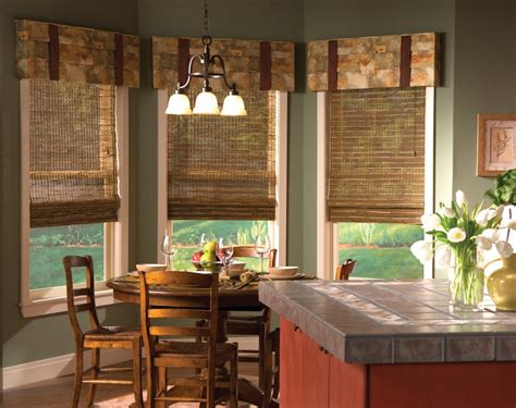 window coverings for kitchen window treatments for a completed room design