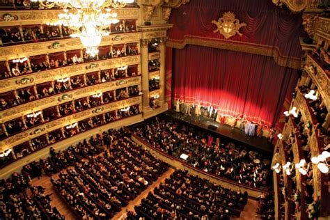 La Scala Interior by Images Theatre Museum At La Scala Interior View Of Theatre