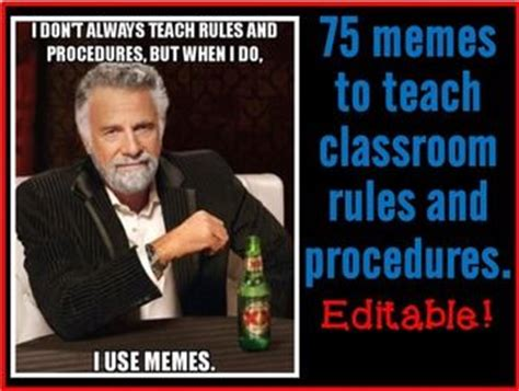 Classroom Rules Memes - 25 best ideas about rules and procedures on pinterest