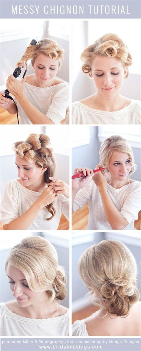 Wedding Hairstyles Tutorials by 12 Wedding Hairstyles Tutorials For Brides And