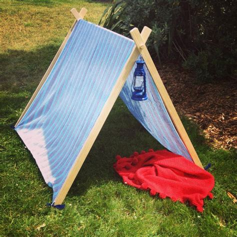 wooden tent quot the kiddy bivvy quot children s wooden play tent felt