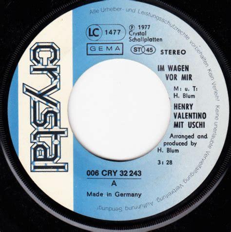 henry valentino im wagen vor mir valentino henry uschi im wagen vor mir l a 1977