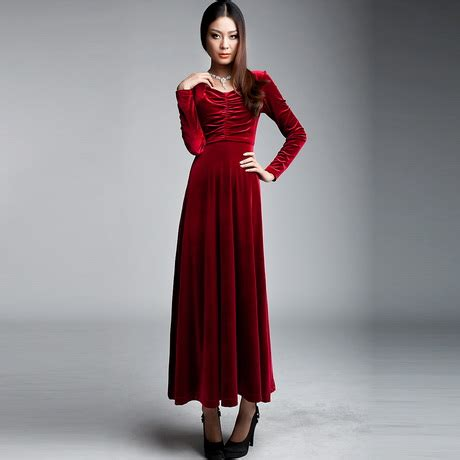 Longdress Velvet velvet dress