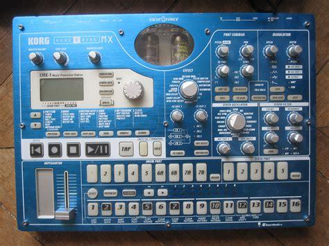 korg emx patternbank korg electribe emx1 image 259762 audiofanzine