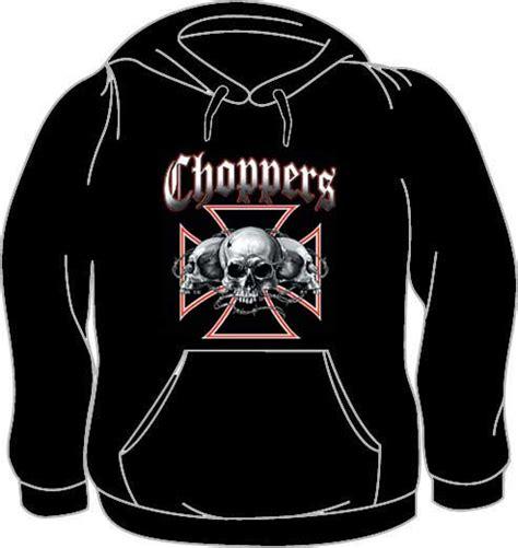 Hoodie Choppers 4 Jidnie Clothing choppers skull hoodie skull hoodies hoodies for