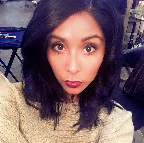 Snooki Cuts Hair Short | snooki s drastic haircut mystylebell your premiere