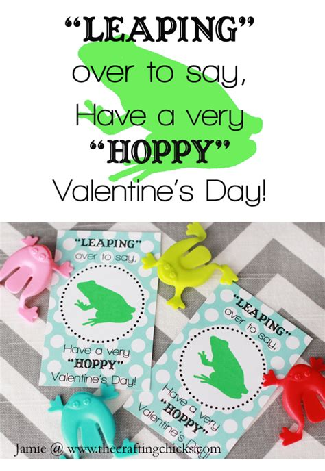 frog valentines card template frog free printable the crafting