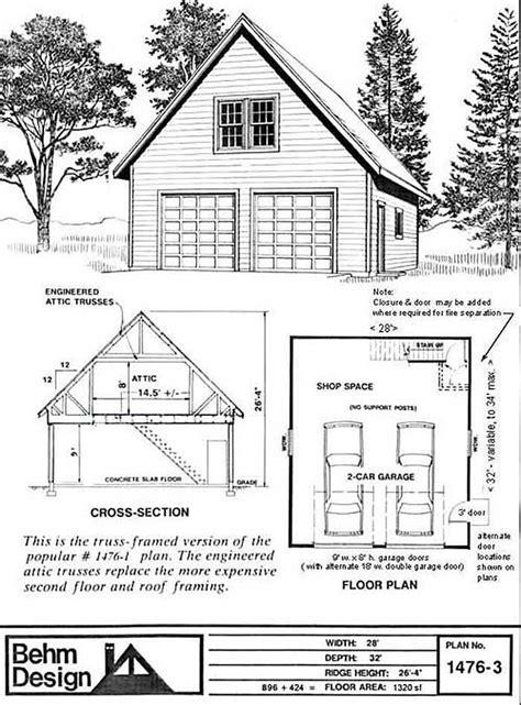 Garage Loft Plans by Best 25 Garage Plans With Loft Ideas On