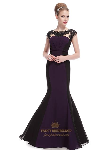 Purple Lace Prom Dress  2016 Fashion Trends ? Fashion Gossip