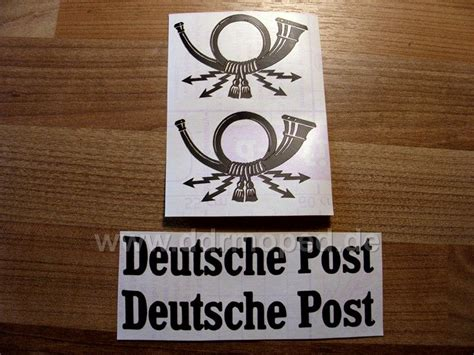 Posthorn Aufkleber by Posttank Gelb Und Original Tolle Entdeckung Unterm Lack