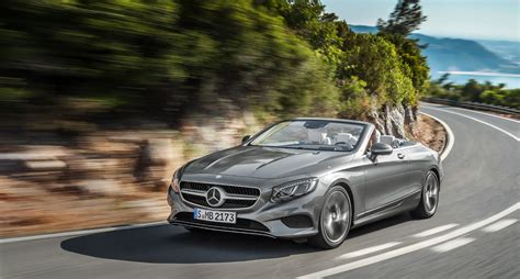 luxury mercedes open top luxury the mercedes s class cabriolet