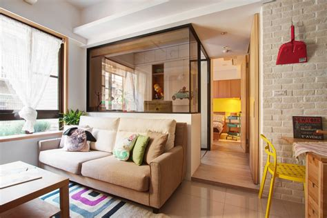 apartamento decorado urban concept minuet neutral functional small apartment with cheerful