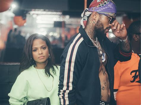 dave east sadly ends all the christina milian dating