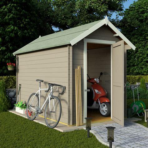 Shed Area by Billyoh 10 X 6 19mm Log Cabin Heavy Duty Garden Shed Www