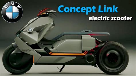 Bmw Motorrad Electric by Bmw Motorrad Concept Link Electric Scooter Unveiled