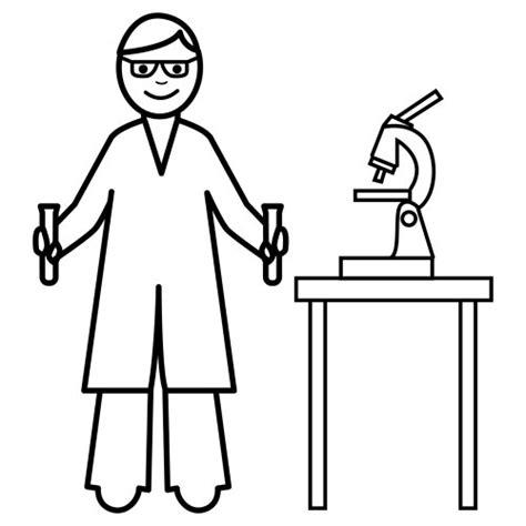 dibujos para colorear de cientificos cient 237 fico dibujalia dibujos para colorear elementos