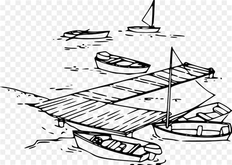 boat dock clipart dock boat drawing clip art boat png download 1280 910