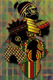 Dimensions Of King Duvet African Women Painting By James Mingo