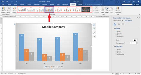 yahoo layout change 2016 how to edit insert a chart in microsoft word 2016