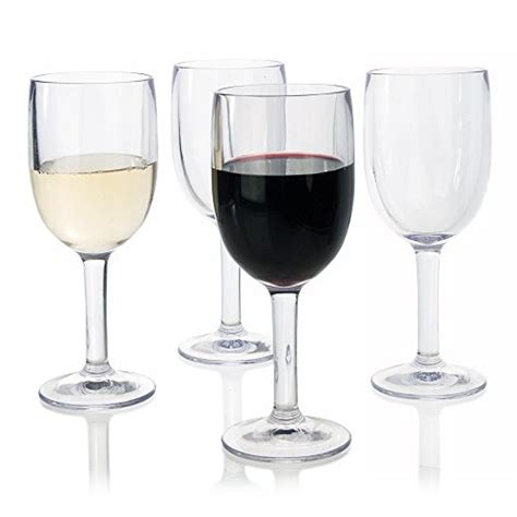 thick wine glasses save 63 premium quality thick walled plastic 12oz wine glass set of 4