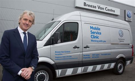 hampshire van centres launch mobile service clinic  customers commercial vehicle dealer