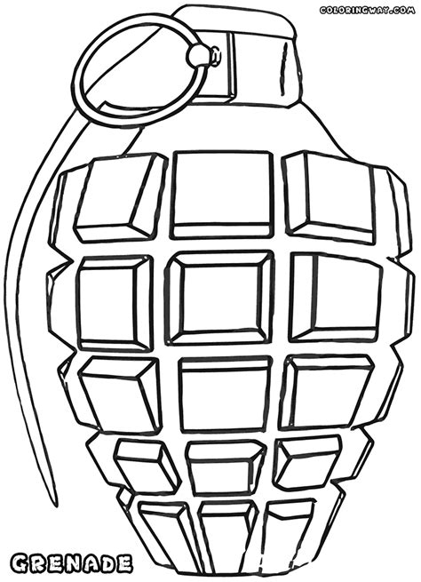 coloring sheets printables grenade coloring pages coloring pages to and print