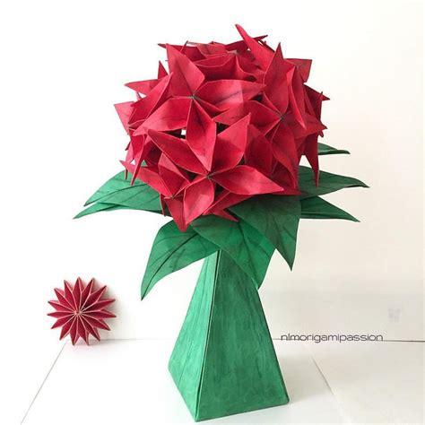 Origami Flower Vase - flower in paper vase nlm origami garden flowers