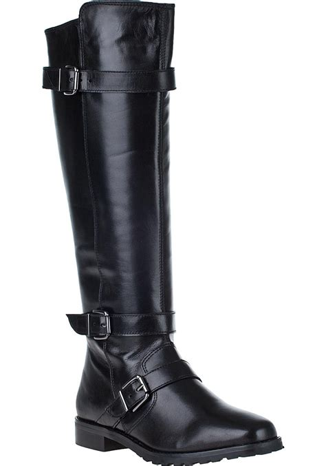 black boots for vaneli for jildor welle boot black leather in black