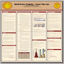 1m X 1m Poster Template by 21 Conference Poster Templates Free Word Pdf Psd Eps