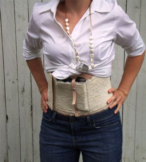 ccw concealed carry corset review the coreopsis a lace concealed carry corset holster by