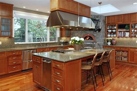island cooktop center island cooktop pizza oven kitchen inspiration