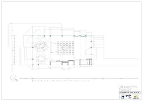 Large House Floor Plan Gallery Of Endesa Pavilion Institute For Advanced